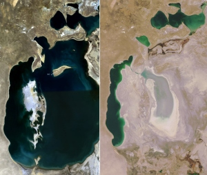 Aral See 1989 - 2008