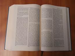 Die Bibel, das 'Testament' fuer die Erde. Wo detailliert beschrieben steht wie alles Leben und Natur vernichtet werden muesse.