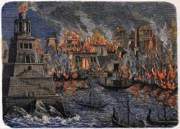 Der Brand von Alexandria