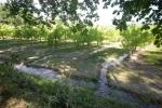 Der Craponne Kanal ist heute ein Begriff in der Agrar Industrie, es ist was wir hier sehen: Zerstörung von Ökosystemen für die Industrie